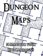 14 Dungeon Maps