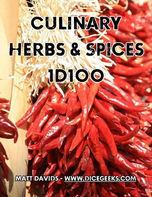 Culinary Herbs & Spices 1D100