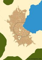 Calaron City Map