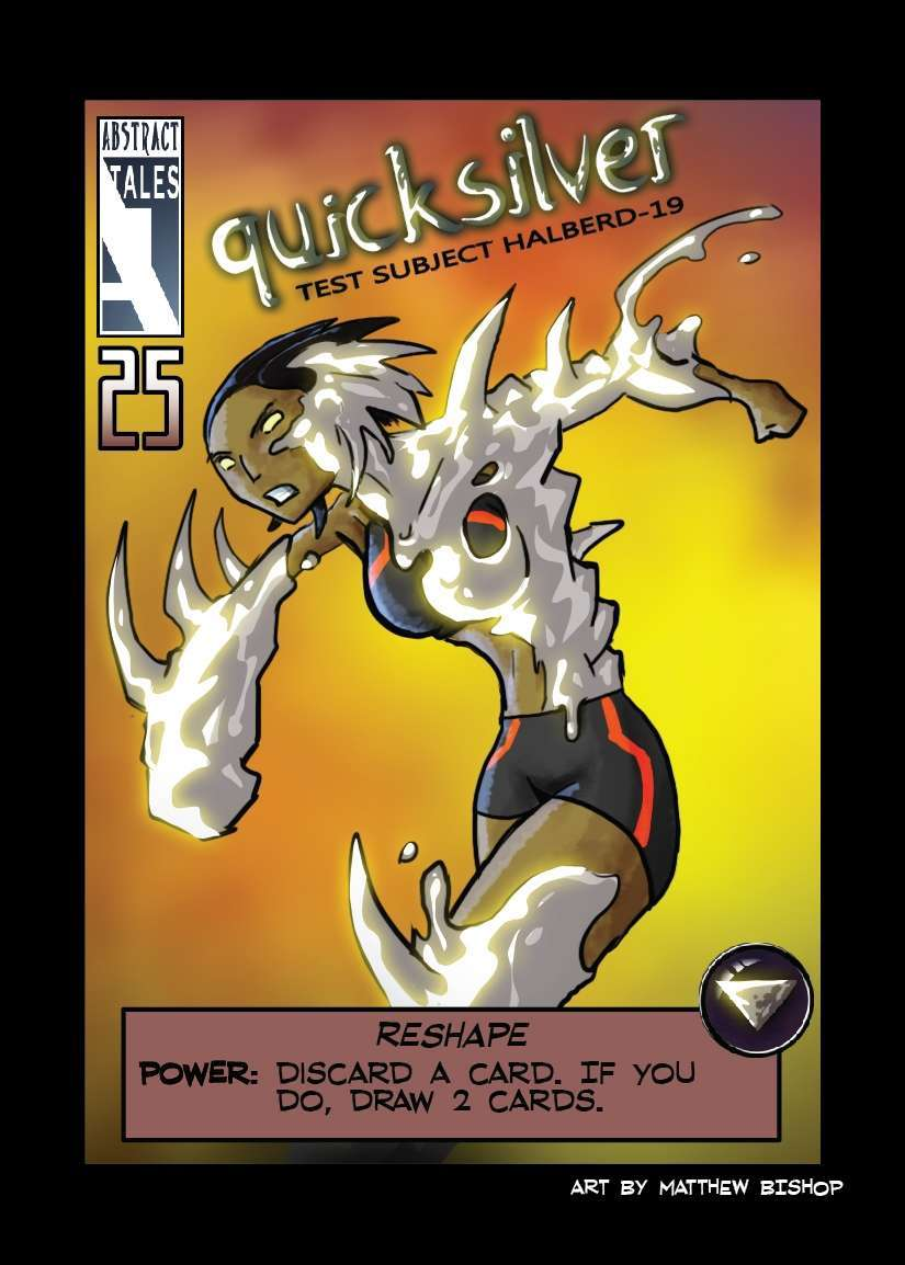 The Cauldron - Quicksilver hero deck