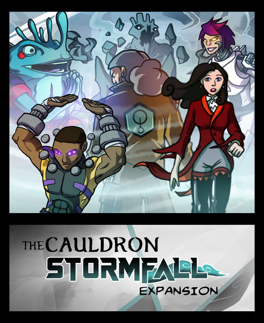 The Cauldron - Stormfall expansion [BUNDLE]