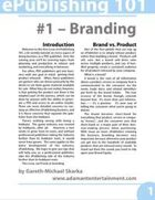 ePublishing 101 (#1) - Branding