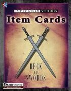Item Cards:  Deck of Swords