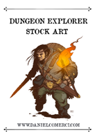 Dungeon Explorer Stock Art