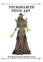 Necromancer Stock Art