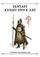 Fantasy Knight Stock Art