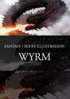 Wyrm Dragon Stock Art