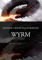 Wyrm Dragon Stock Art