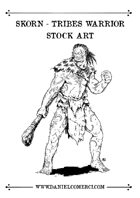 Skorn Tribes Warrior Stock Art Preview
