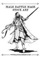 Battle Mage Stock Art