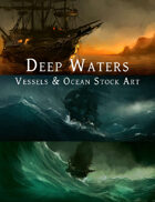Deep Waters - Vessels & Ocean Stock Art