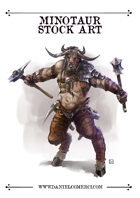 Minotaur Stock Art