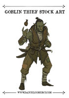 Female Goblin Thief Stock Art