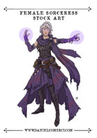 Sorceress Stock Art
