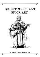 Desert Merchant Stock Art