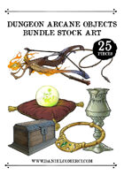 Dungeon Arcane Objects Stock Art