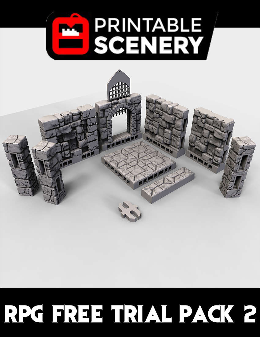 Rampage Free Trial Pack 2 - www printablescenery com