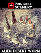 Alien Desert Worms