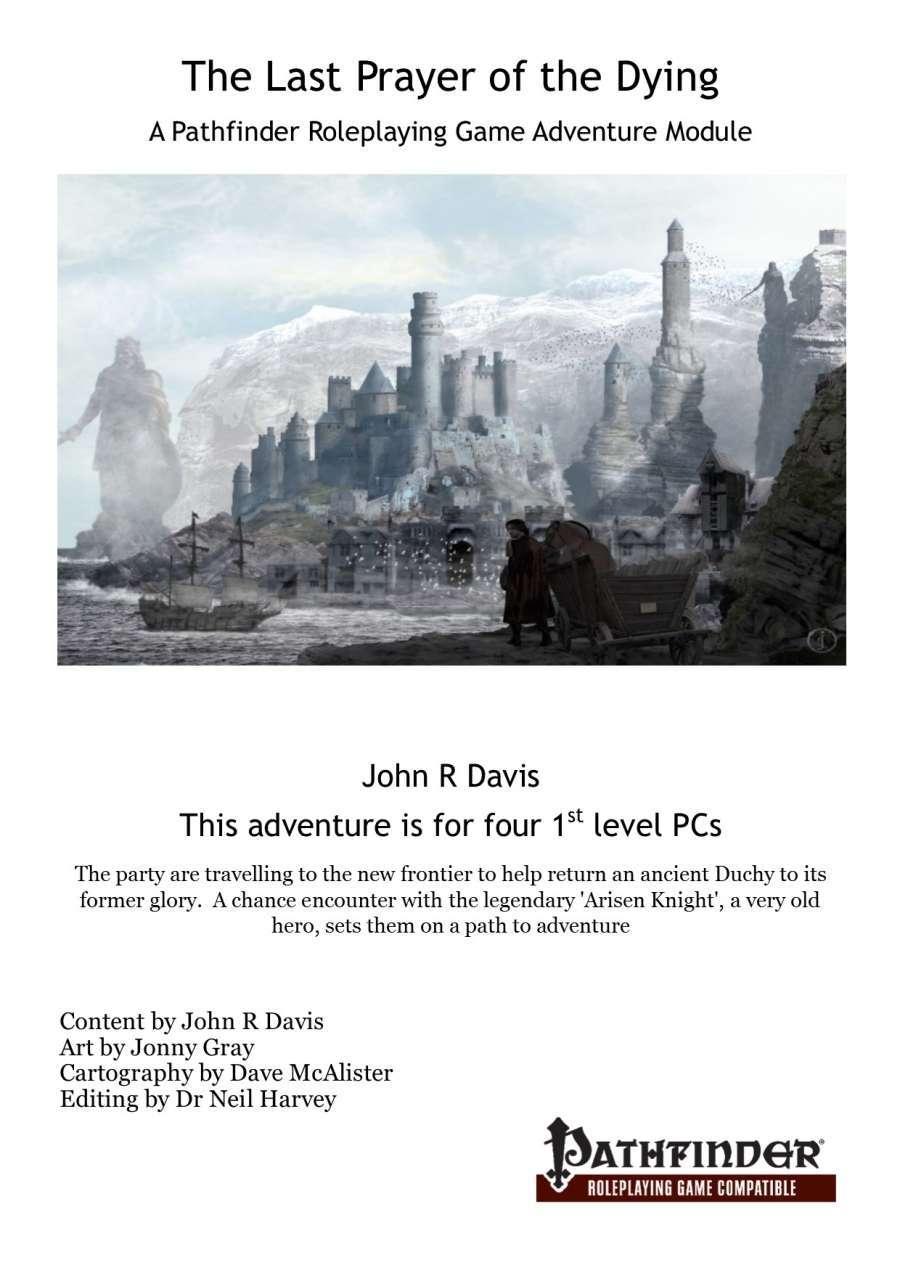 The Last Prayer Of Dying Pathfinder Version John R Davis Drivethrurpg