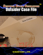 SEG - Outsider Case File - Iron Golem