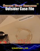 SEG - Outsider Case File - Dimensional Spiders