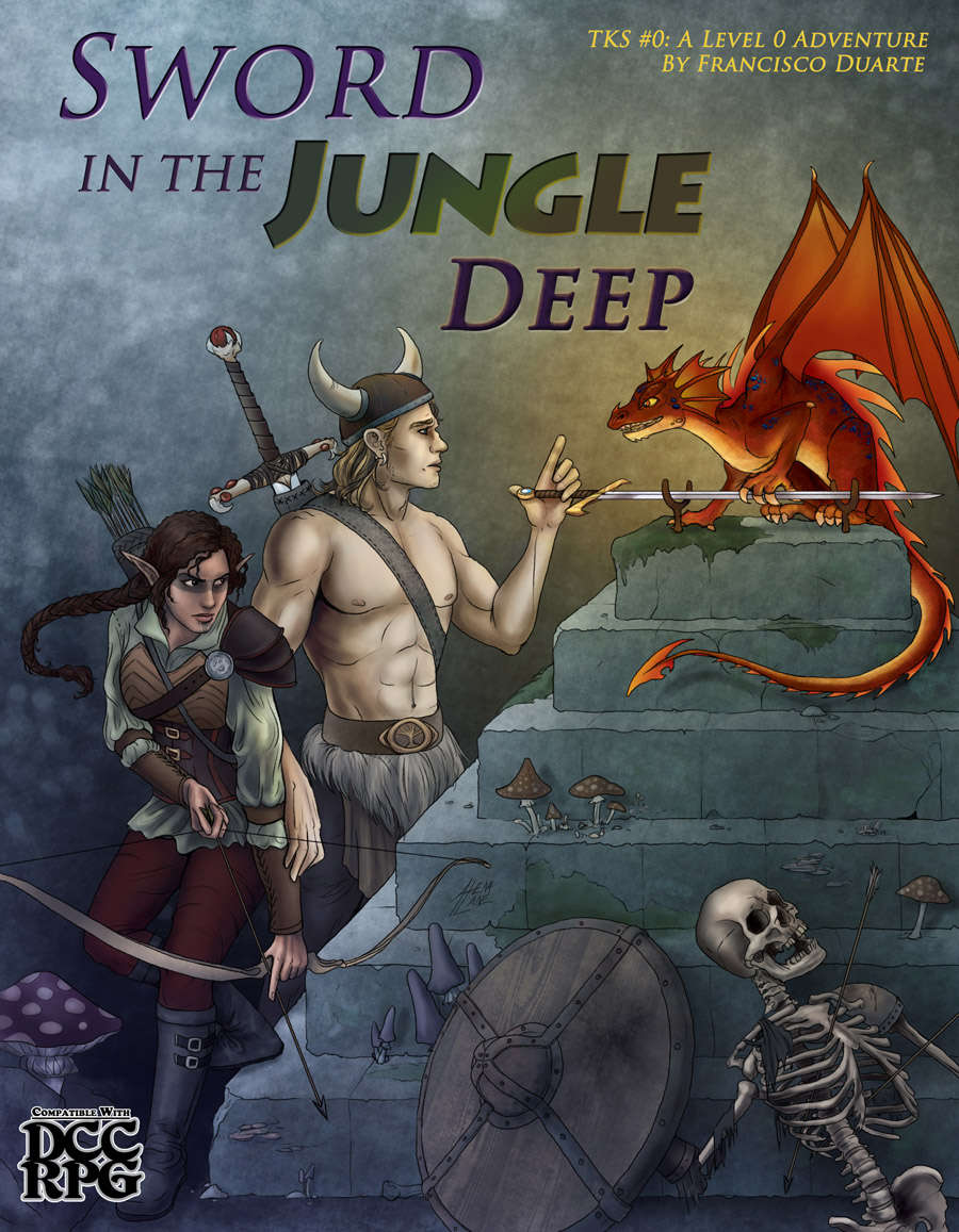 Cover of Sword in the Jungle Deep