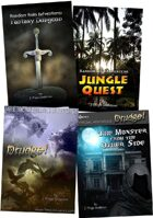 PenguinComics.com MEGA Bundle - All GameBooks + Drudge! [BUNDLE]