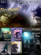 Drudge! Core rules + Monster (ADV) + Generic Adventures [BUNDLE]