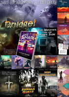 SUPER: Drudge/Books/Adventures/Magazines/QuikTableTop [BUNDLE]