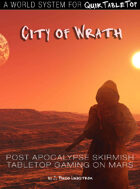 QuikTableTop: City of Wrath - A World System / Add-on