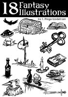 18 Fantasy Illustrations - Part III