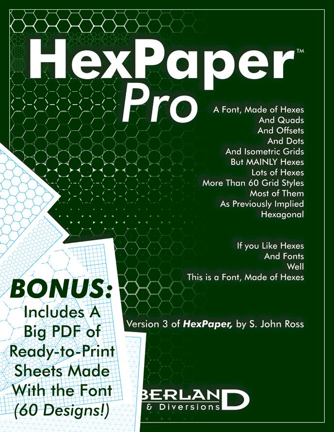 HexPaper Pro - Cumberland Games & Diversions | DriveThruRPG com