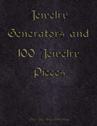 Jewelry Generator and 100 Jewelry Pieces