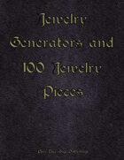 Jewelry Generator and 100 Jewelry Pieces