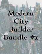 Modern City Builder Bundle #1 [BUNDLE]
