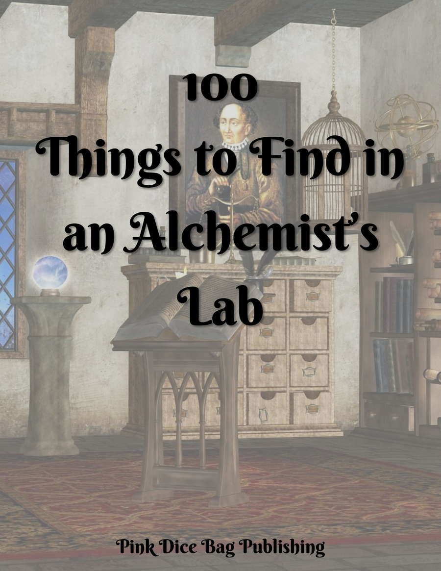 100 Things to Find in an Alchemist's Lab