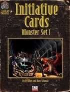 Initiative Cards: Monster Set 1