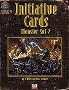 Initiative Cards: Monster Set 2