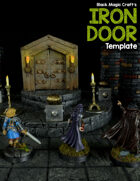 Iron Door Template