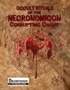 Occult Rituals: Corrupting Chant