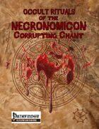 Occult Rituals: Corrupting Chant
