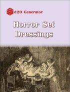 D20 Generator: Horror Set Dressings