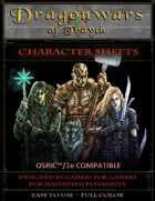 Dragonwars of Trayth- Blank Character Sheets- 1e/Osric Compatible