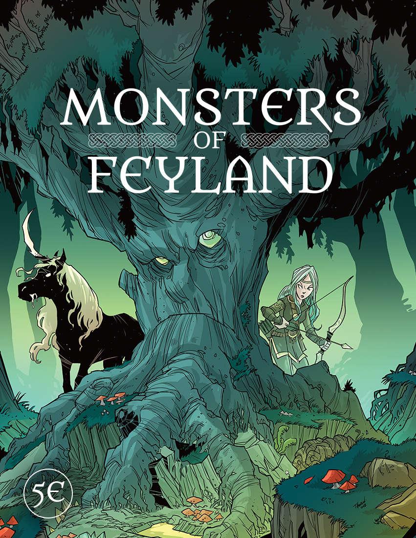 Monsters of Feyland - Cawood Publishing | DriveThruRPG com