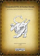 Gregorius21778: 20 further details for random monster encounters in the wilderness