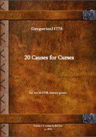 Gregorius21778: Causes for Curses