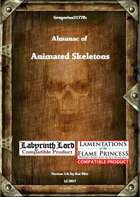 Gregorius21778: Almanac of Animated Skeletons