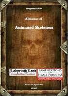 Gregorius21778: Almanac of Animated Skeletons