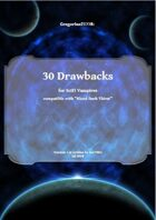 Gregorius21778: 30 Drawbacks for Scifi Vampires (BDT)