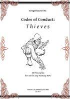 Gregorius21778: Codes of Conduct: Thieves